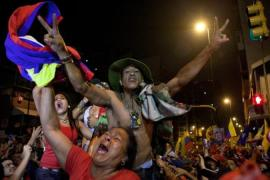"According to a 2010 Gallup poll, Venezuela tied with Finland as the 5th ""happiest nation in the world"" [EPA]"