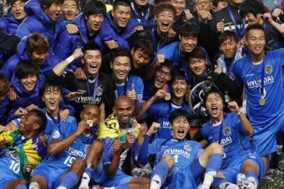 Ulsan Hyundai qualified for the FIFA Club World Cup after outclassing Al Ahli in final [Reuters]