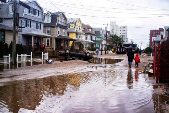Hurricane Sandy was a wake up call in that we should have paid attention to the previous three disasters [REUTERS]