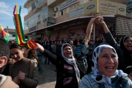 Kurds oust Syrian forces from northern towns
