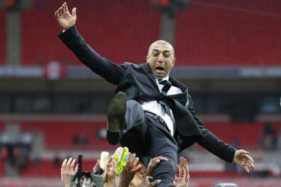 Di Matteo won the Champions League and FA Cup during his first year in charge of Chelsea [Reuters]