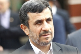 Mahmoud Ahmadinejad registers to run for president