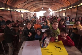 Syrian refugees suffer in squalid camps