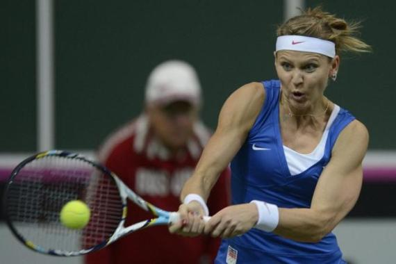 Safarova won both her single matches to ensure Czech Republic were victorious on home soil [EPA]