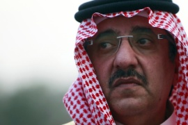 Mohammed bin Nayef bin Abdulaziz has been dubbed 'the prince of counterterrorism' [File: Reuters]