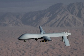 An MQ-1 Predator unmanned aircraft is one of many UAVs flying the skies [US Air Force via Reuters]