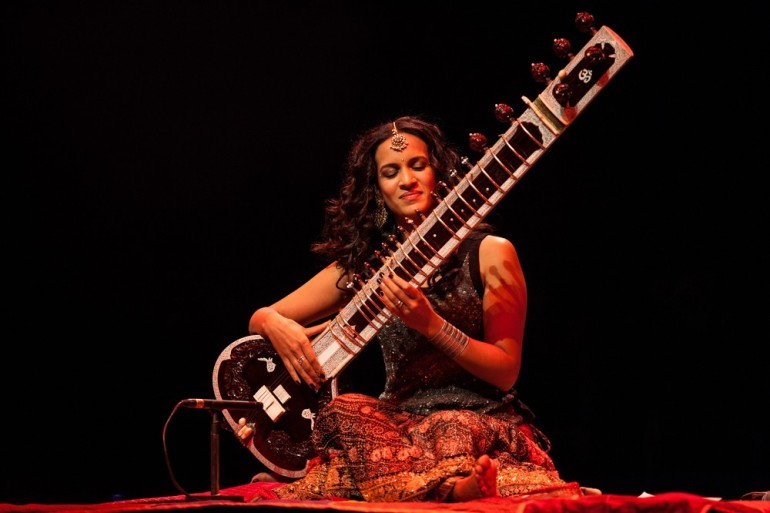 Anoushka Shankar studied the sitar from her father as a child. She has been nominated for the Grammy award in 2003 and 2005 and again in 2013 with her father.