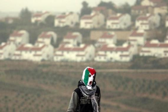 An increase in settlement activity has further diminished Palestinians' hope for peace [EPA]