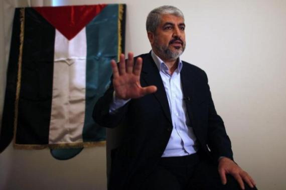 Hamas leader Khaled Meshaal was based in Syria but relocated to Qatar when civil war broke out [Reuters]