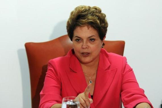 President Dilma Rousseff knows very well that perceptions of insecurity in Brazil will have the effect of scaring away foreign investment, and could even damage Brazil's recent recognition as a BRIC member [AFP]