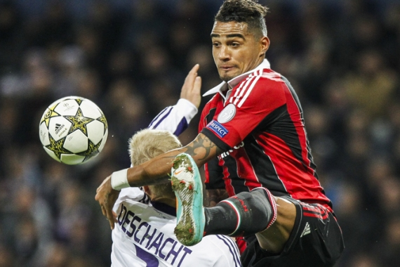An outstanding performance by Ghana's Kevin Prince Boateng at the 2010 World Cup put him firmly on the world stage [EPA]