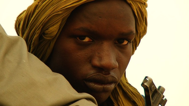 A young mujahid in Timbuktu.