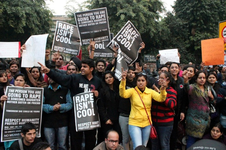The gang rape and subsequent death of a 23-year-old student in Delhi had triggered widespread protests across the country.