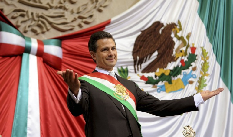 Enrique Pena Nieto took over as Mexican president on December 1, offering a shot at redemption for the party that shaped modern Mexico.