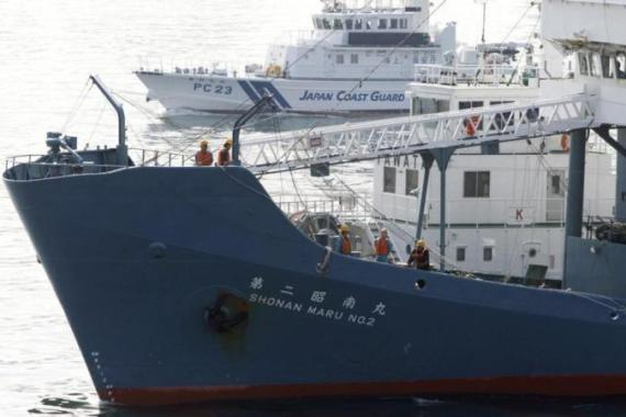 Previous expeditions have resulted in violent clashes between Japanese boats and Sea Shepherd vessels [Reuters]