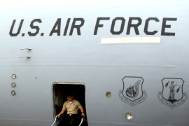 US air crews have been deployed along with controversial aircraft to fight ISIL in Syria and Iraq [EPA]