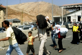 Syrian refugees struggle in Lebanon