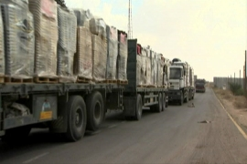 West Bank businesses struggle to import goods