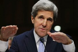 Kerry outlines Middle East policy at hearing