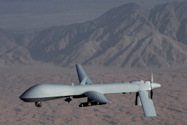 US drone strikes are deeply unpopular in Pakistan and the government is officially against them [Reuters]