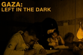 Gaza: Left in the dark