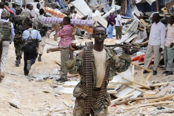 The Somali government shut down the weapons trade at Bakara Market, but the business persists elsewhere [Reuters]