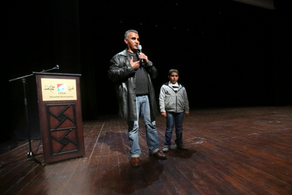 Emad Burnat directed the Oscar-nominated documentary 5 Broken Cameras [Reuters]