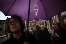In November 2012, the Church of England's General Synod voted against allowing women to become bishops - recently, the Church of England ruled that gay clergy can become bishops only if they take a vow of celibacy [Getty]