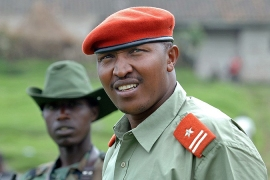 Bosco Ntaganda was convicted in 2019 on 18 counts of crimes against humanity and war crimes and sentenced to 30 years' imprisonment for his role in atrocities during a bloody ethnic conflict in a mineral-rich region of Congo in 2002-2003 [File: Lionel Healing/AFP]