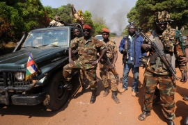 The Seleka rebel movement has taken Bossembele, a town 160km northwest of the capital, Bangui [EPA]