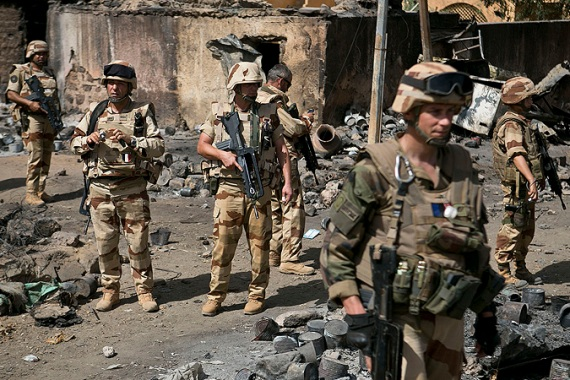 Five French soldiers were killed in Mali last week after an al-Qaeda branch detonated improvised explosive devices [File: Tanya Bindra/EPA]