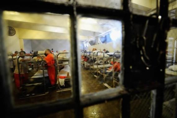 The US has the highest incarceration rate not because it has higher crime rates, but because it imprisons more types of criminal offenders, including non-violent and drug offenders , and keeps them in prison longer [Getty Images]