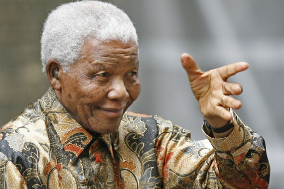 As a young man, Nelson Mandela had close ties to the South African Communist Party [AFP]