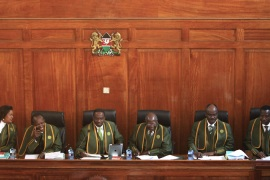 Kenya's Supreme Court ruled that Uhuru Kenyatta fairly won presidential elections held on March 4 [Reuters]