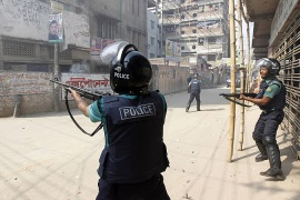 Violent strike continues in Bangladesh