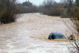 Spring floods into western Europe