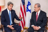 """John Kerry is now noting that the window for a comprehensive peace settlement leading to a Palestinian state could begin to close,"" writes Bennis [Reuters]"