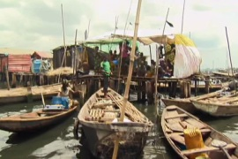 Nigeria's famous slum built on water