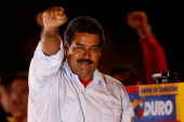 """If Maduro wins on Sunday, as expected, Chavez's heir apparent will probably deepen Cuba ties even further, thus demonstrating once again the complete and utter bankruptcy of US foreign policy,"" writes Kozloff [Reuters]"