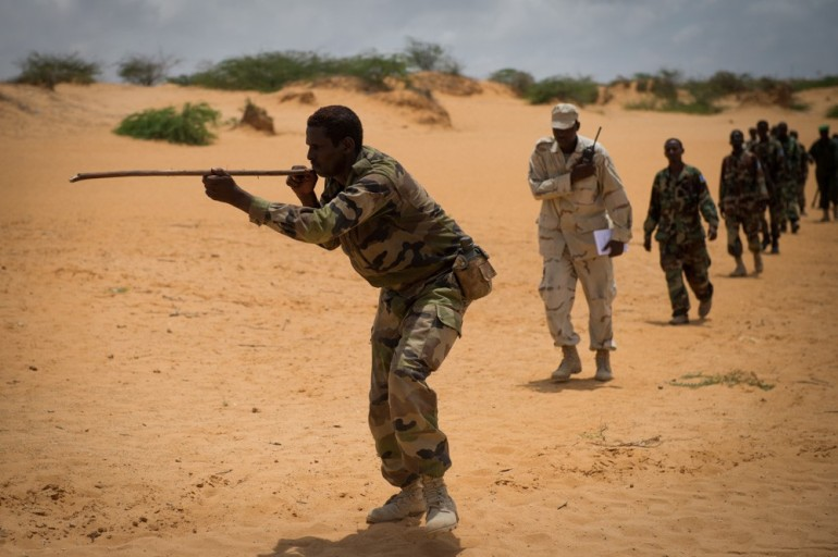 The SNA is still poorly equipped, however, as a result of the United Nations arms embargo, which was put in place when war in Somalia broke out.