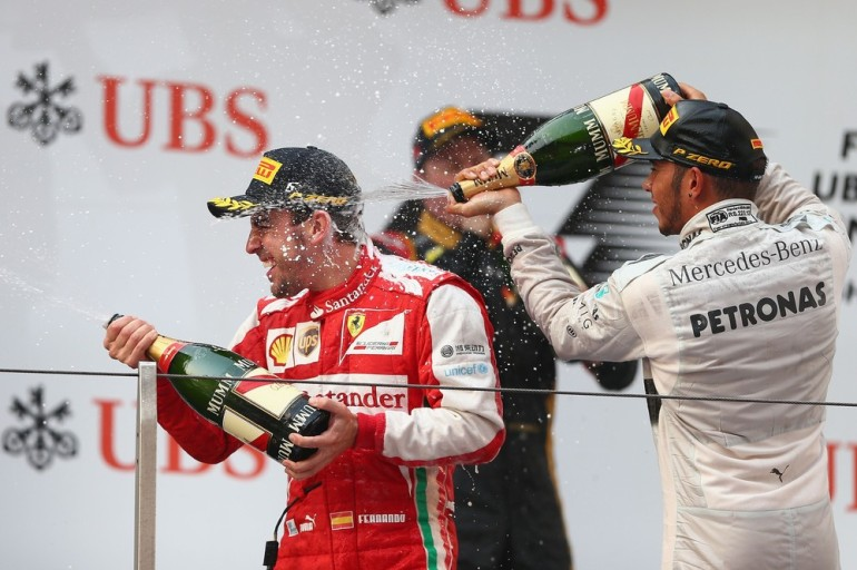 Ferrari(***)s Fernando Alonso was in imperious form as he
