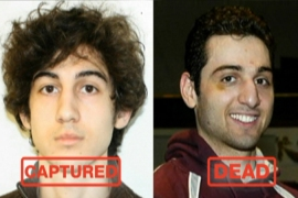 Lawyers want to show that the real mastermind of the bombing was Tamerlan Tsarnaev (right) - Dzokhar's older brother [AP]
