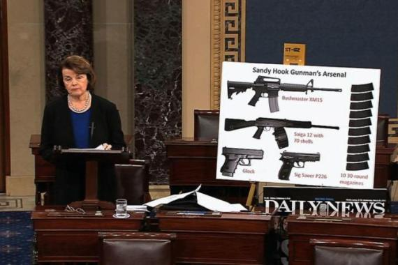 The United States Senate recently failed to reach the required 60 votes to approve an amendment that would require stricter background checks on gun purchases [AP]