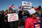 Even legal immigrants who have spent their whole lives in the US may face deportation from relatively minor criminal infractions with little recourse or way to appeal [Getty]