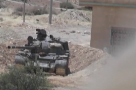 Neutral Syrian town drawn into battle