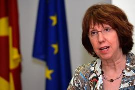 "Catherine Ashton said the move disregards the ""great benefits"" that freedom of movement brings to Europe [EPA]"