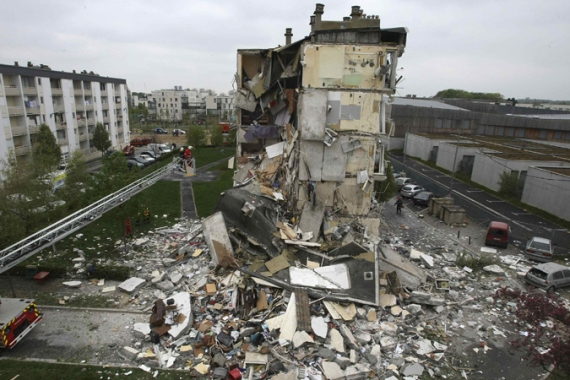 Reims' mayor said the cause of the explosion was still under investigation [Reuters]