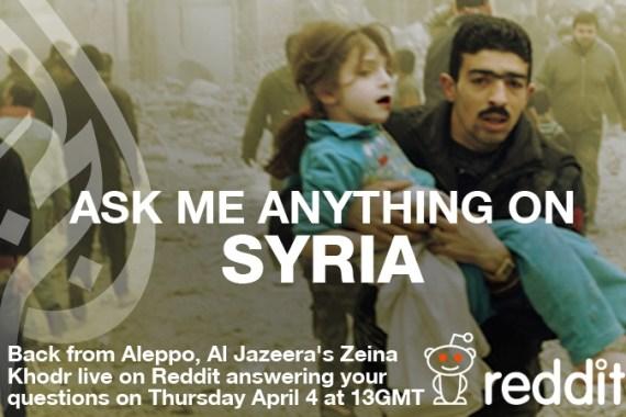 Zeina Khodr Ask Me Anything On Syria Lebanon Al Jazeera
