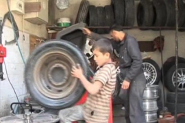 Child labour on the rise amid Syria conflict