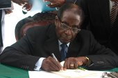 Zimbabwe President Robert Mugabe has insisted on holding elections by the end of July [Reuters]